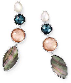 Ippolita Wonderland 4-Stone Earrings in Moroccan Dust
