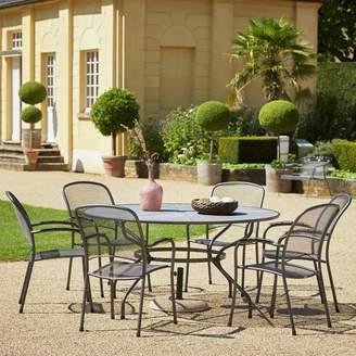 Royal Garden Carlo 6 Seater Metal Patio Set