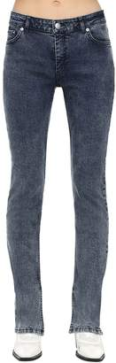 Ganni STRAIGHT LEG COTTON DENIM JEANS