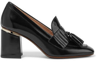 Tod's Tasseled Patent-leather Pumps - Black