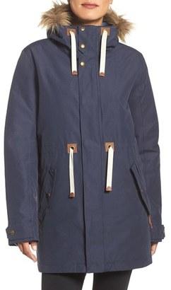 Women's Burton Saxton Waterproof Down Parka With Faux Fur Trim $299.95 thestylecure.com
