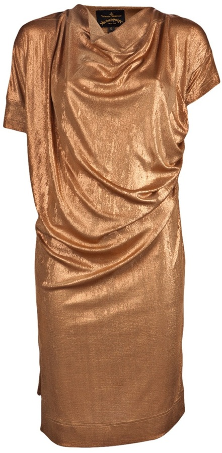 Vivienne Westwood new drape dress