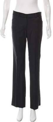 Nili Lotan Mid-Rise Wool Pants
