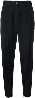 Barbara Bui zipped ankles cropped trousers