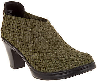 Bernie Mev. Basket Weave Closed Toe Pumps- Chesca