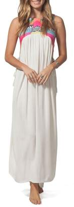 Rip Curl Sunscape Lace-Up Maxi Dress