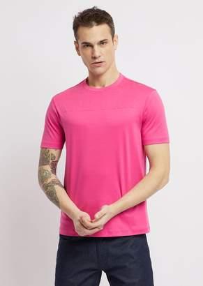 Emporio Armani Cotton Interlock Jersey T-Shirt