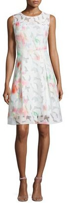 Elie Tahari Dorinda Sleeveless Round-Neck Dress. Flash $448 thestylecure.com