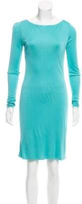 Ralph Lauren Long Sleeve Knee-Length Dress