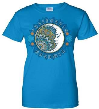 Co Dolphin Shirt California Dreamin Ladies T-Shirt