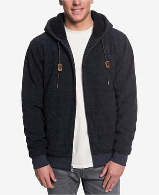 Quiksilver Men's Keller Fleece-Lined Full-Zip Hoodie