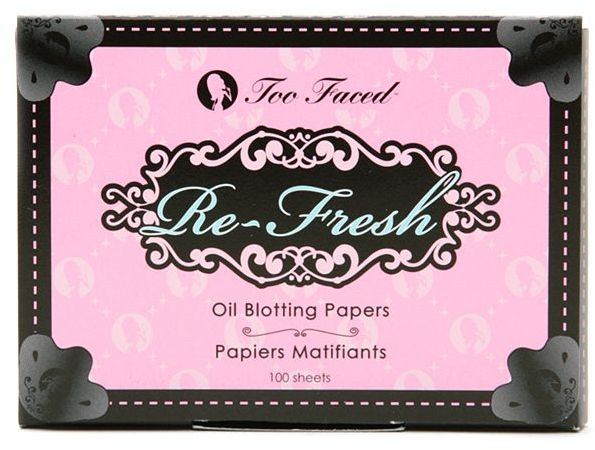 Too Faced Refresh Oil Blotting Papers 100 ea