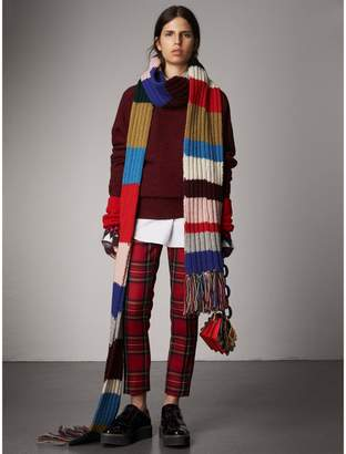 Burberry Melange Wool Sweater