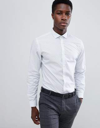 Jack and Jones Slim Fit Long Sleeve Shirt