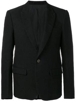 Individual Sentiments tailored woven jacket