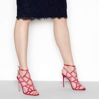 9c2f852d6877 at Debenhams · Faith Pink  Latoya  High Stiletto Heel Ankle Strap Sandals