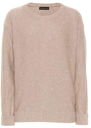 Etro Sequinned wool-blend sweater