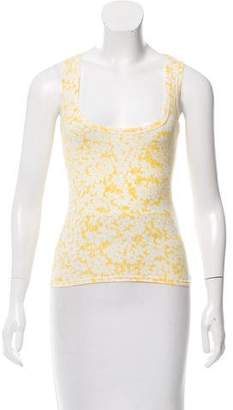 Burberry Printed Sleeveless Top