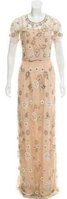 Needle & Thread 2014 Petal Maxi Dress