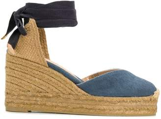 Castaner denim wedge espadrilles