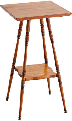 Rejuvenation Delicate Victorian Cherry Turned-Leg Stand