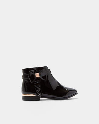 Ted Baker CLAURIA Patent ankle boots