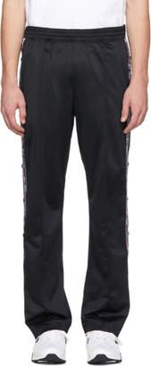 Champion Reverse Weave Black Logo Tape Lounge Pants