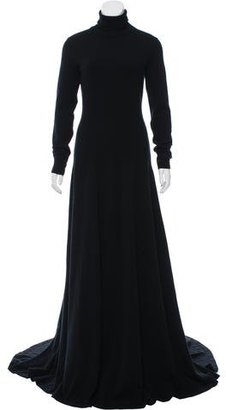 Ralph Lauren Cashmere Cathy Dress w/ Tags $1,295 thestylecure.com