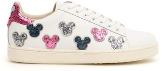 M.O.A. Master Of Arts M.O.A. master of arts Leather And Glitter Disney Sneakers