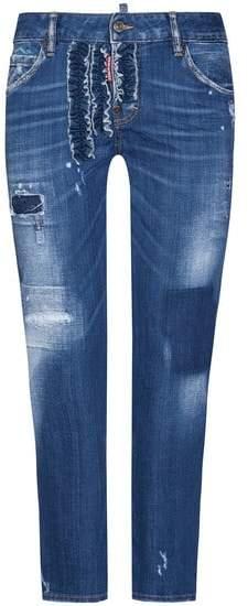 Cool Girl 7/8-Jeans Mid Rise | Damen (36)