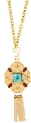 Stephanie Kantis Howlite & Jasper Santorini Tudor Pendant Necklace