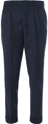 Ami Pleated Virgin Wool Trousers