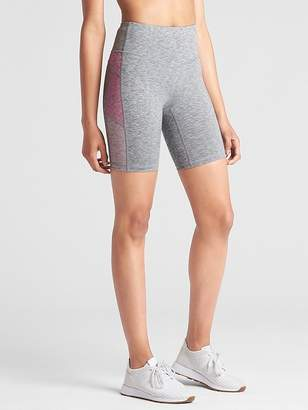 "Gap GapFit Mid Rise 8"" Colorblock Bike Shorts in Performance Cotton"