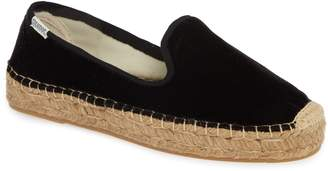 Soludos Platform Smoking Slipper Espadrille