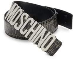 Moschino Printed Logo Belt