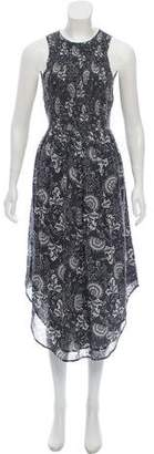 Ulla Johnson Sleeveless Printed Midi Dress