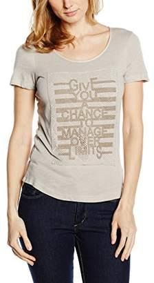 Passport Women's Short Sleeve T-Shirt - Beige