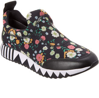 Tory Burch Floral Printed Jupiter Leather-Trim Sneaker
