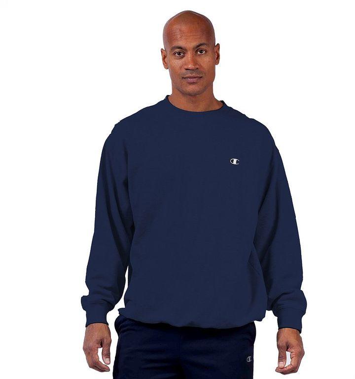 Big & Tall Champion Fleece Crewneck Sweatshirt