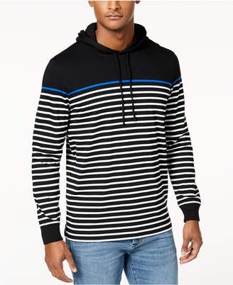 Club Room Men's Striped Pullover Hoodie, Created for Macy's