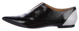 3.1 Phillip Lim Patent Leather Pointed-Toe Loafers