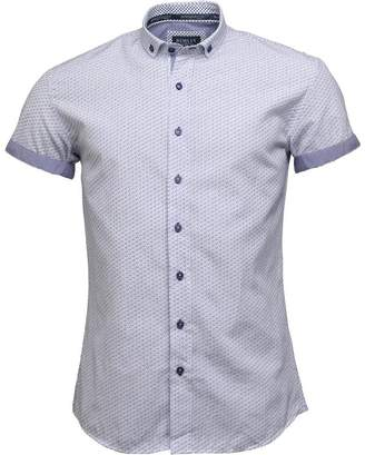 Brax Bewley & Ritch Mens Short Sleeve Shirt White