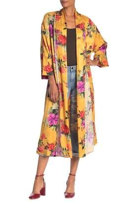 Alice + Olivia Kalena Floral Kimono