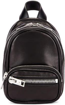Alexander Wang Attica Soft Mini Backpack in Black | FWRD