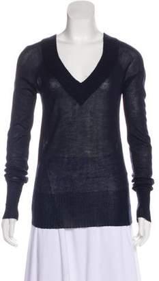 Jenni Kayne Semi-Sheer Cashmere Sweater