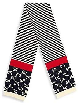 e82ec0aab311 ... Saks Fifth Avenue · Gucci Men's GG Cotton Scarf