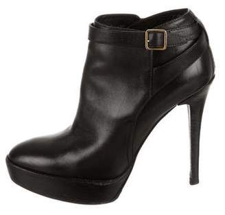 Burberry Platform Ankle Booties