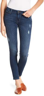 Levi's 711 Distressed Skinny Jeans - 30-32 Inseam