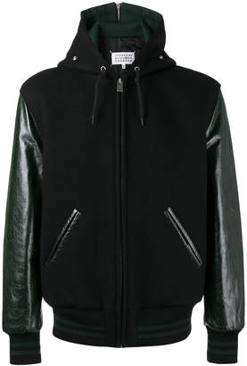 Maison Margiela hooded baseball jacket