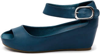I Love Billy Tindol Blue Sandals Womens Shoes Casual Heeled Sandals